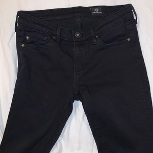 AG Mid-rise Black Jeans Size 24